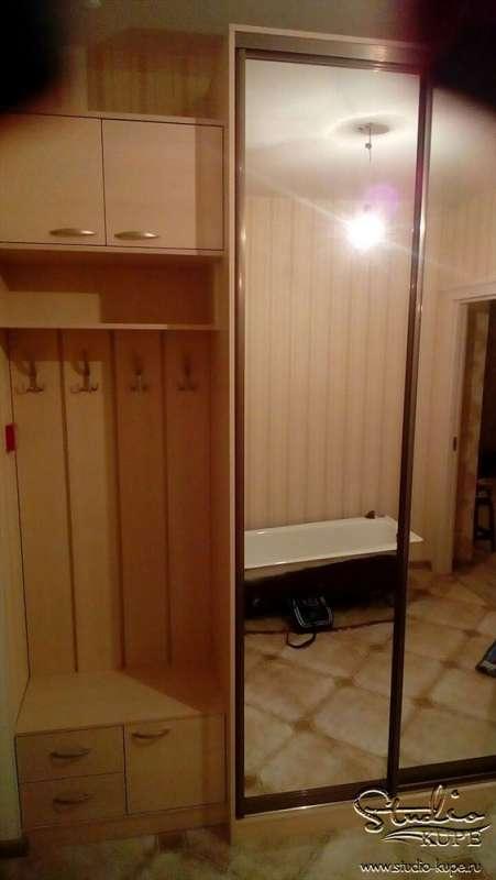 Шкаф в прихожей индивидуальный проект.